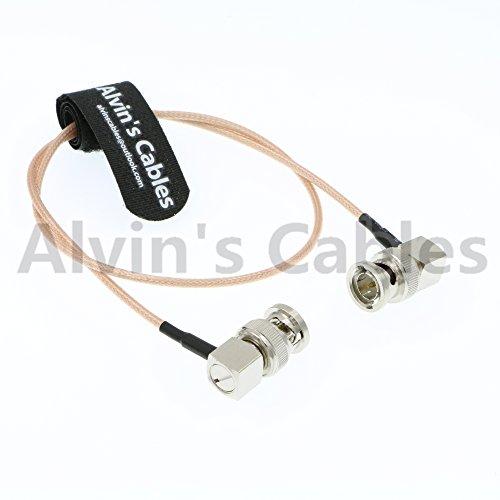 RG179 Coax BNC Right Angle Male to Male Cable for BMCC Video Blackmagic Camera