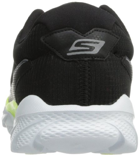 Skechers Performance Mens Go Run Ride 3 Scarpe Da Corsa Nere / Lime / Oxford