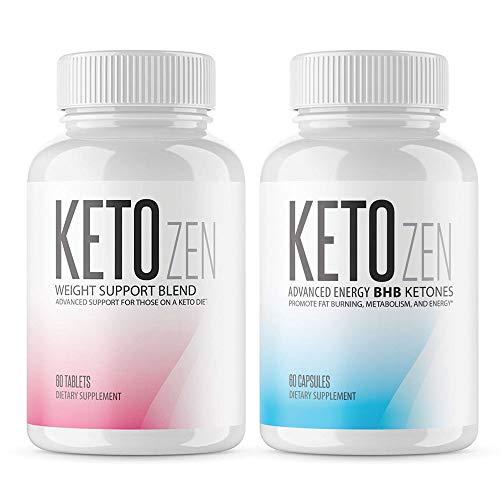 Keto Zen Combo - BHB Ketones and Fruit Ketone Brand Combo - Made in The USA by keto-zen (Image #3)