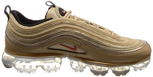 0eb8a49405 Nike Shoes Woman Sneakers AIR Max Vapormax 97 in Gold Fabric AO4542-902:  Amazon.co.uk: Shoes & Bags