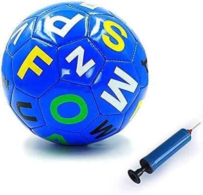 Aoneky Mini Balón de Fútbol con Bomba de Bola para Niños - Talla 2 ...