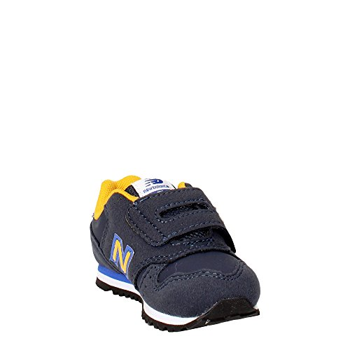 New Balance - New Balance- Zapatillas niños velcro KV373Z1I - W14459 Blue / Yellow (Blau)