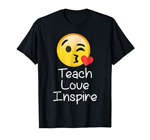 (teach love inspire Emoji heart love come back school t)