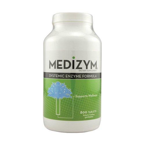 (Naturally Vitamins Medizym Systemic Enzyme Formula 800 Tab)