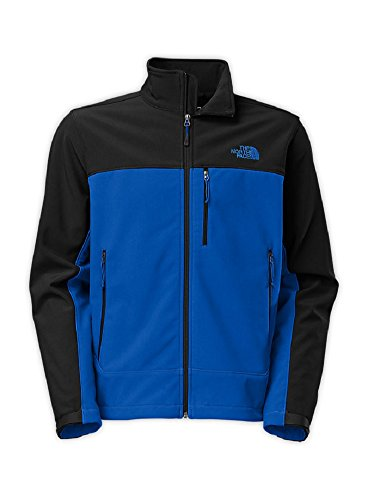The North Face Men's Apex Bionic Jacket Monster Blue/TNF Black Outerwear L by The North Face