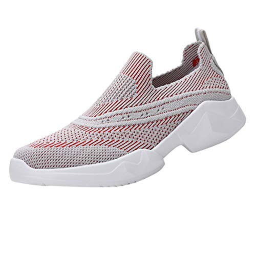 Mysky Women Popular Casual Outdoor Running Breathable Mesh Lace-Up Sweater Sneaker -