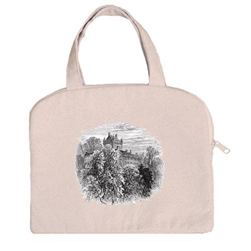 Tablet Bag Case Canvas Handles Cawdor Castles By Style In Print Cawdor Castle