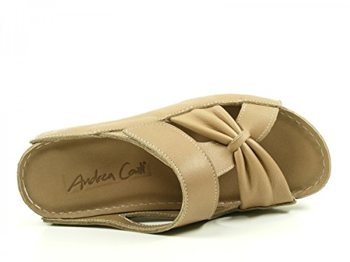 25303 Comfort Beige Schuhe Sandalen Conti Pantoletten Andrea Damen 5xnqE0fwnB