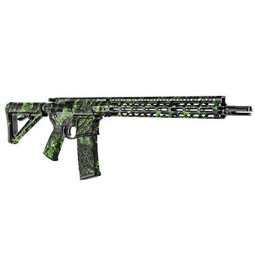 GunSkins AR-15 Rifle Skin Camouflage Kit DIY Vinyl Wrap with precut Pieces (Proveil Reaper Z)