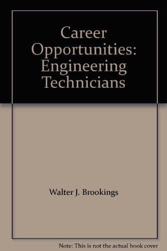 Career Opportunities: Engineering Technicians