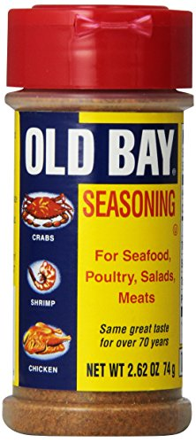 Old Bay Seasoning, For Seafood, Poultry, Salads, and Meats, 2.62 oz (Seasoning Seafood Bay)