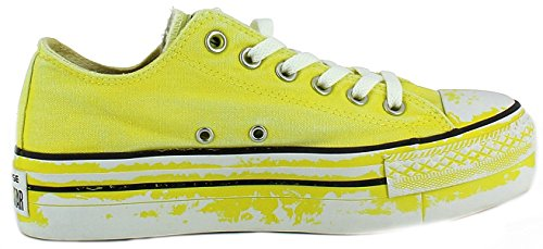 Edition Limited Zapatos Converse Star Ox All Amarillo Platform Deportivos wZnIXq71Ix