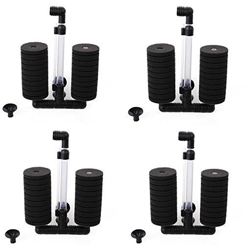 XINYOU XY-2822 Air Pump Double Sponge Water Filter for Aquarium - 20 Tank Fish Pump Filter Gal