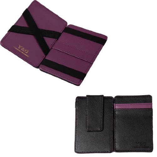 quilt leather wallet - 9