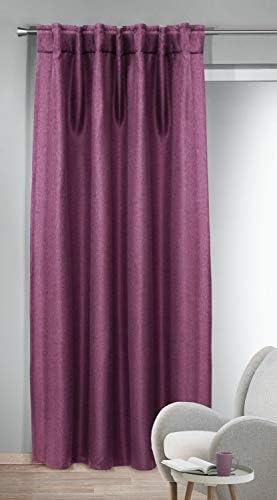 Albani – Sciarpa con Passanti nascosti Dimout Jolie Burgund, 245 x 135 cm