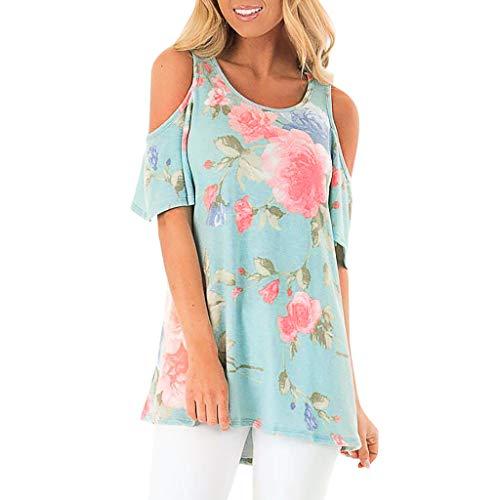 Big Sale YetouWomens V-Neck Stripe Printing Fashion Sleeveless Camisole T-Shirt Blouse Easy Tops Blue