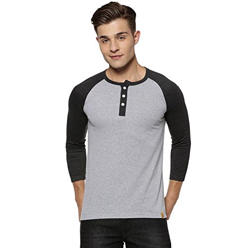 4d70baf32 Campus Sutra Men s Henley T-Shirts  Amazon.in  Clothing   Accessories