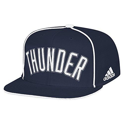 NBA Oklahoma City Thunder Men's Fanwear Team Flat Brim Snapback Cap, One Size, - Thunder Okc Snapbacks