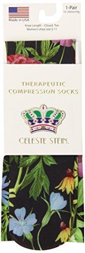 Celeste Stein CMPS2-1951 Therapeutic Compression Socks, 0.6 Ounce