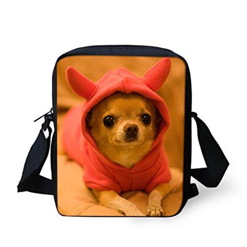 Chihuahua petit Marron HUGSIDEA pour Cute femme Cabas 4331342215 Kitty 8wzqt4