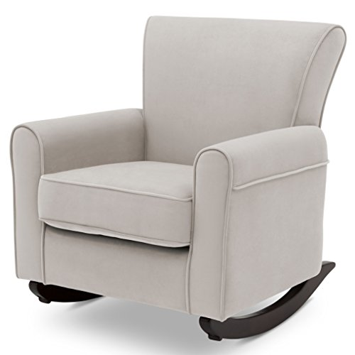 - Delta Children Lancaster Rocking Chair Featuring Live Smart Fabric, Linen