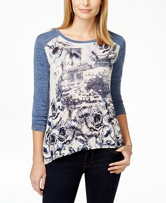 style and co petite tops - 8