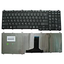 Laptop Keyboard for Toshiba Satellite P200 P205 P300 L500 L355 L350 L505 L581 A500 L550 US Black