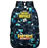 Fortnite -Boys And Girls Large Vintage Canvas Backpack Hiking Travel