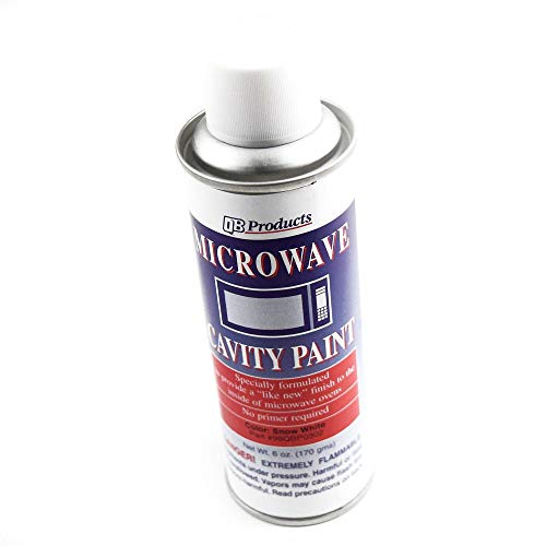 Inc. Fax 98QBP0302 Microwave Cavity Spray Paint (White) Genuine Original Equipment Manufacturer (OEM) Part White