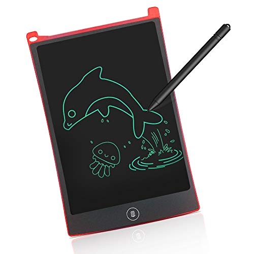 Birthday Gifts for Boys Age 3-12, Fun LCD Writing Tablet for 3-12 Year Old Girl 2019 New Christmas New Gifts for 3-12 Age Girls Educational Gifts for Girl Age 3-12 Stocking Stuffers Red TGUSXSXB04 (Best Tablet For 3 Year Old 2019)