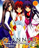 Clannad Season 1 & 2 + Movie + 4 OVA (DVD)