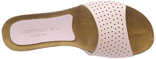 Johannes W. Ahawi Damen Pantoletten Rosa (Skin)