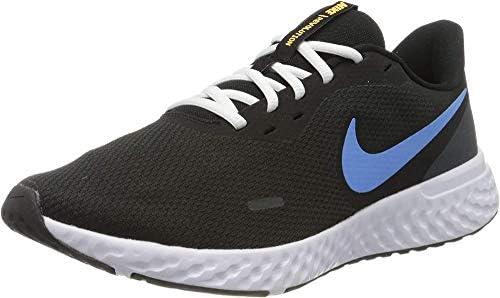 Cenar solapa trono  Nike Men's Revolution 5 Running Shoe, Black/University Blue-Laser  Orange-White-Anthracite, 11.5 Regular US: Buy Online at Best Price in UAE -  Amazon.ae
