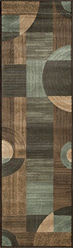 Momeni Rugs DREAMDR-01BRN2376 Dream Collection, Contemporary Area Rug, 2'3