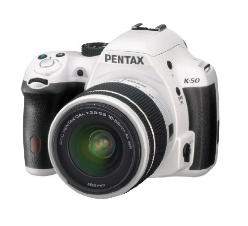 4 opinioni per Pentax K-50 Fotocamera e Obiettivo DA-L 18-55 WR, Sensore CMOS APS-C da 16,49