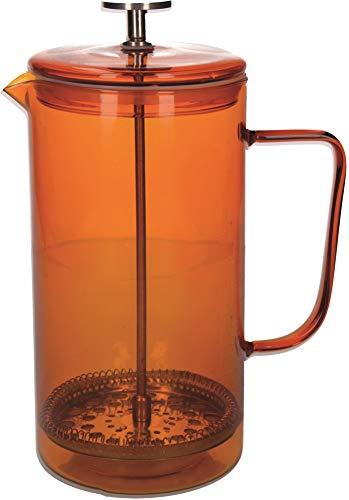 La Cafetiere Core Cafetera de prensa francesa, vidrio borosilicato, cristal de borosilicato, Ámbar., 8 Cup (1 Litre)