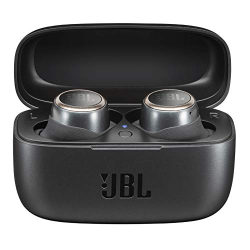 (Renewed) JBL Live 300TWS True Wireless in-Ear Headphones with 20 Hours Playtime, Built-in Voice Assistant & Bluetooth 5.0 (Black)