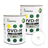 Smartbuy 4.7gb/120min 16x DVD-R White Top Blank Data Video Recordable Media Disc (200-Disc)