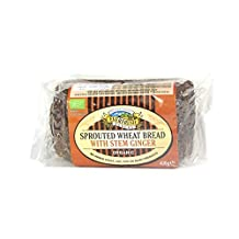 Everfresh Bakery - Sprouted Wheat Bread with Stem Ginger - 400g