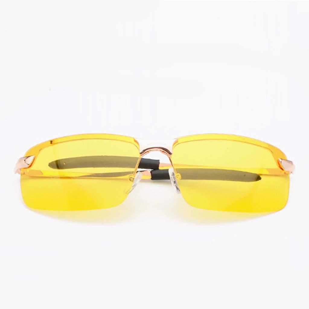 COGIGI Night Driving Glasses Vision Anti Glare Drivers Polarized UV400 Fit Over