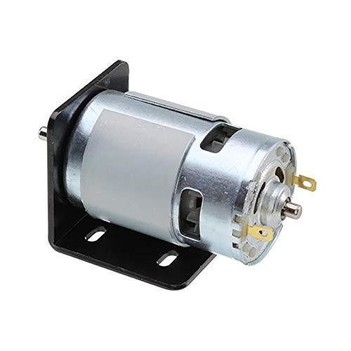 Naliovker 775 Motore con Staffa di Montaggio Dc 12V 10000 Rpm Motor Double Bearings 150W