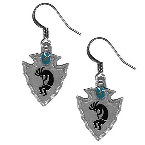 Siskiyou Dangle Earrings - Kokopelli
