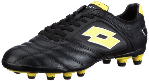 LOTTO STADIO POTENZA FG, Chaussures de sport homme - Noir-TR-I3-81, 40 EU