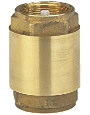 Gardena 7231-20 Messing-tussenventiel: terugslagklep van massief messing, 33,3 mm (G 1 inch) - schroefdraad, bijv. voor aansluiting op pompen