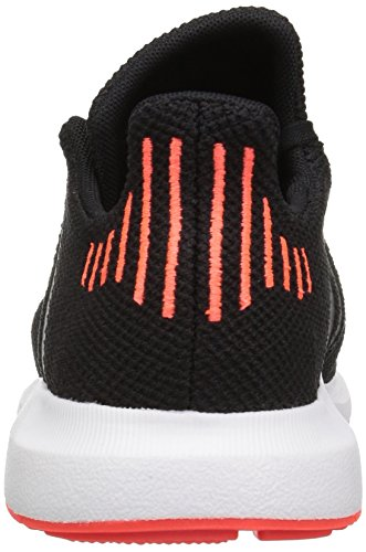 adidas Originals Baby Swift Running Shoe Black/Solar red, 9.5K M US Toddler by adidas Originals (Image #2)