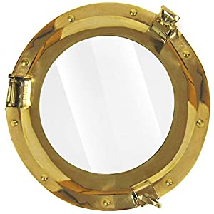 41CzS5KVUBL._SS300_ 100+ Porthole Themed Mirrors For Nautical Homes For 2020