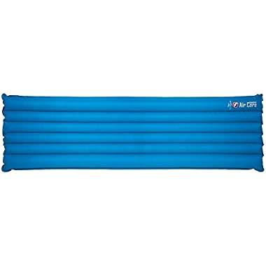 Big Agnes Insulated Air Core Long Sleeping Pad Blue/Gray