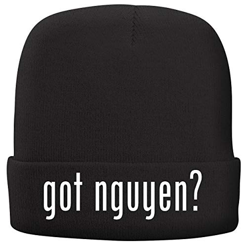 BH Cool Designs got Nguyen? - Adult Comfortable Fleece Lined Beanie, Black