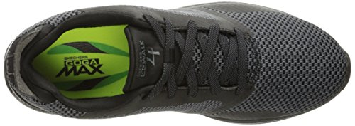 Go Gray Black Walk Womens Skechers 4 14914 75yPq