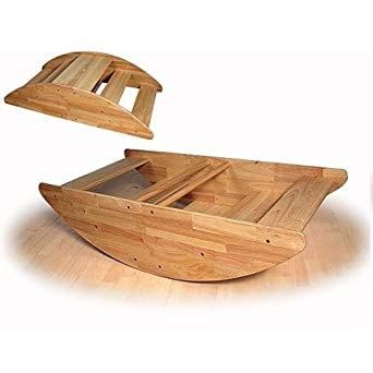 Amazon.com: Wooden Rocking Boat - Seats up to 4 Children: Industrial & Scientific